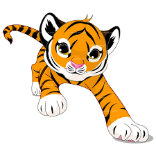 running tiger clipart black and white. Running Tiger Clipart Black And White Library Free For