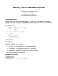 Pharmacy technician resume objective and get inspiration to create a good  resume 18