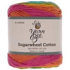 Yarn Bee Sugarwheel Cotton Yarn Hobby Lobby