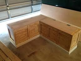 corner bench seating diy large size of nook seating bench seat building storage plus corner with