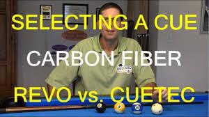 How To Select A Pool Cue Cue Ball Deflection Carbon Fiber Revo Vs Cuetec