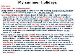 summer holidays essay for kids  summer holidays essay for kids