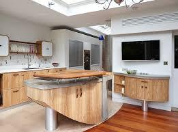 sleek contemporary kitchen cabinets modern cupboard design kitchen in modern house