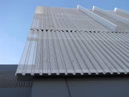 perforated metal screen. Panel(s): Spanrib \u0026amp; Perforated Metal Screen