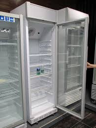 upright single glass door beer display cooler beverage fridge lg 230xp