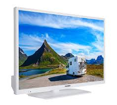 Telefunken Xh24e401v W 61 Cm 24 Zoll Fernseher Hd Ready Smart Tv Triple Tuner Weiß