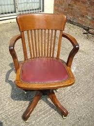 desk old wooden swivel desk chair antique swivel solid oak desk chair with arm oak