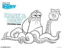 Small Picture Finding Dory Coloring Pages Printables