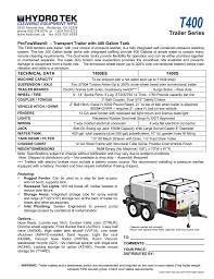 Trailer Light Requirements T400s Manualzz Com
