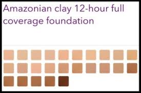 Tarte Amazonian Clay Color Chart First Impressions Of Tarte Cosmetics Amazonian Clay 12 Hour