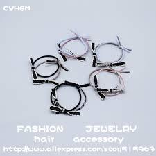 <b>CYHGM girls</b> kawaii elastic <b>hair</b> bands decoration vintage floral ...