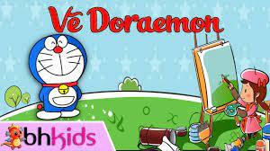 Vẽ Doraemon   Cách Vẽ Nhân Vật Hoạt Hình Đơn Giản - YouTube