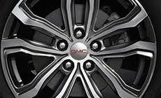 2018 gmc wheels. modren 2018 19 inch ultrabright machinedaluminum wheels on the 2018 gmc terrain  denali in gmc a