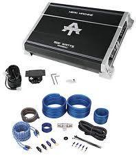 autotek car amplifiers autotek mma1500 1 1500 watt mono amplifier mean machine car audio amp kit