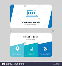 Computer Card Design Computer Business Card Design Template Visiting For Your