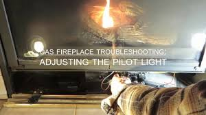 obadiah s gas fireplace troubleshooting adjusting the pilot light