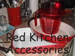 Red Kitchen Accessories Red Accessories Red Kitchen Accessories
