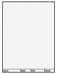 Isometric Graph Paper In 2019 Graph Paper Isometric