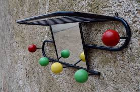 Ball Coat Rack Vintage Coat Rack with Ball Hooks 100s for sale at Pamono 25