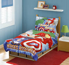 Amazoncom Marvel Avengers Heroes Assemble Toddler Bedding Set Picture With  Incredible Sets For Boys Of Qrhytfl ...