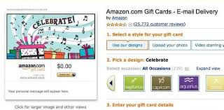 amazon sells gift cards to lots of