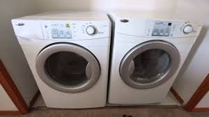 Best Price On Front Load Washer And Dryer Amana Washer Dryer Youtube