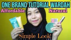 one brand tutorial wardah make up