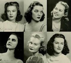 1940s college hairstyles 1941