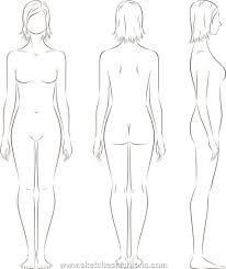 Costume Drawing Template Gallery For Male Body Template For Costume Design For School
