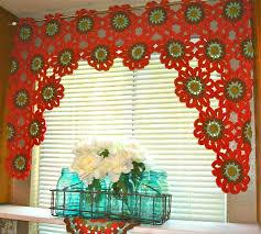 Kitchen Curtain Patterns Fascinating Crochet Kitchen Curtains Patterns Kitchen Inspiration