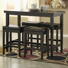 5 Piece Bar Table Set Signature Design By Ashley Kimonte 5 Piece Counter Table Set With
