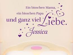 Wandtattoo Mama Papa Und Liebe