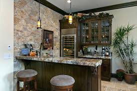 Bar In Home Ideas Basement Bar Ideas Stone Home Bar Traditional With