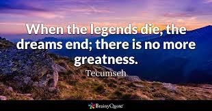 Tecumseh Quotes Interesting Tecumseh Quotes BrainyQuote