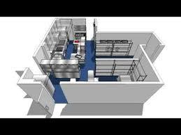 Superb Commercial Kitchen Design 3D Walkthrough.avi Ideas