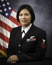 official portrait intelligence specialist 1st class marlo v perlas united states naval reserve navy intelligence specialist