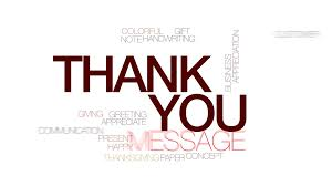 Word Thank You Thank You Animated Word Cloud Text Design Animation Kinetic