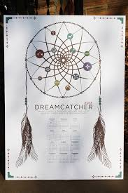 Dream Catcher Symbolism Simple Dreamcatcher Symbol Calendar On Behance
