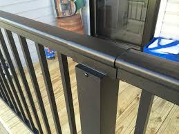aluminum railing  color guard railing