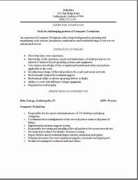 Computer Technician Resume, Examples,samples Free Edit With Word for Computer  Technician Resume Sample