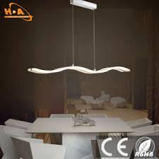 coffee shop lighting. Coffee Shop Pendant Chandelier Light Wavy LED Coffee Shop Lighting