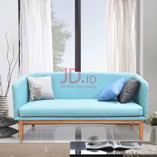 teal blue furniture. Jual LIVIEN Furniture - Kursi / Sofa Bangku Helen (2 Seater) Light Blue Livien Teal
