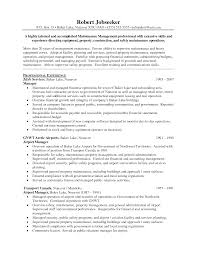 Cover Letter Operation Manager Resume Examples Warehouse