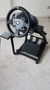 thrustmaster tx leather edition with gt omega wheel stand