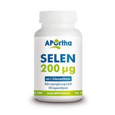 Selen 200 µg aus l-selenomethionin - 120 vegane