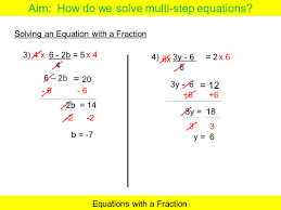 multi step equations with fractions calculator tessshlo