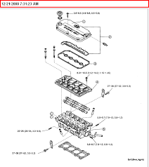 torque specs and diagrams on replacing head gsk on rio 2003 1 6 eng graphic