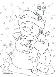 Winter Coloring Pages Winter Coloring Pictures Winter Colouring