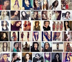 Hot asian teen girlfriends posing