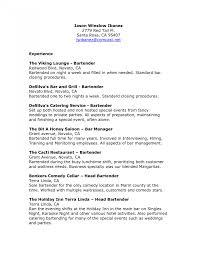 Waiter Resume Resumes Head Skills Cover Letter Sample Position